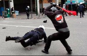 Antifa bei der Arbeit