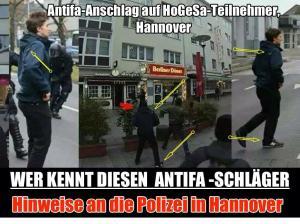 Antifa schläger gesucht