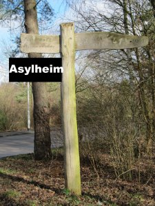 Hinweis Asylheim