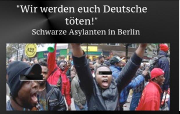asyl neger berlin