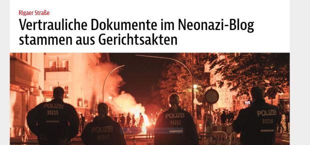 Foto Linksextremisten